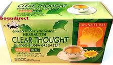 2 Boxes Tai Chi 100% Natural Herbal Ginkgo Biloba Green Tea, total 24 Tea Bags