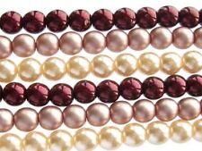 Strawberberries & Cream Mix - 330 Czech glass pearls 4mm