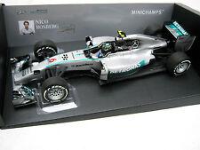 Mercedes Benz AMG f1 w05 rosberg Race Car 2014 Minichamps pma 110140006 1/18 OVP