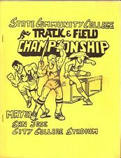 San Jose Ca. City College Relays & Championship Track & Field Programs 1977 & 80
