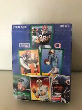 1991 FLEER NFL FOOTBALL WAX BOX (36 PACKS).