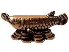 Figura decorativa pescado AROWANA FENG SHUI riqueza suerte