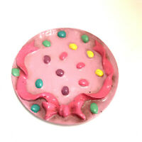 Easter Eggs Bow Decorative Pottery Small Display Plate