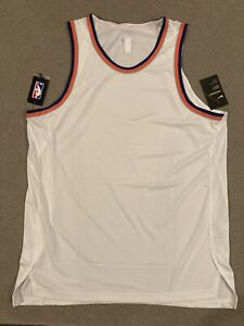 Nike NBA New York Knicks Aeroswift Blank Jersey AH8795-100 Men's Size 52
