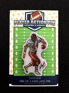 Washington Redskins John Riggins jersey lapel pin-#1 Classic Collectible-RIGGO