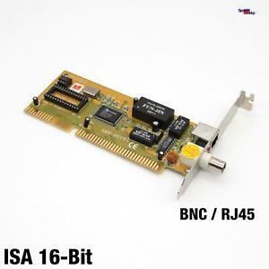 DAVICOM Lan-2uct +DM9008F Isa BNC Network Card Ethernet Lan Card