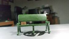 Dept 56 Heritage Village Accessory-Green Metal Park Bench #51098-Mint Condition