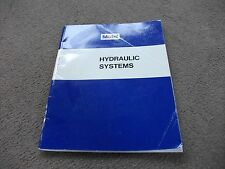 1969 VINTAGE MOBIL OIL  HYDRAULIC SYSTEMS BOOK 60 PAGES LOADS COLOUR PLATES ETC,