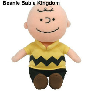 TY BEANIE *** MUSICAL ***  MUSICAL ***   MUSICAL  CHARLIE BROWN  *  FROM SNOOPY