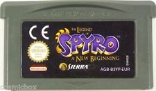 SPYRO a NEW BEGINNING jeu Game Boy Advance compatible console Nintendo DS dsi