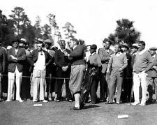 1934 Masters BOBBY JONES Glossy 8x10 Photo Augusta Golf Coarse Print Poster