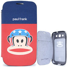 Paul Frank Samsung Galaxy S3 Flip Cover Phone Case -US Helmet Licensed