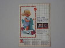advertising Pubblicità 1970 SPINGI SPINGI MATTEL