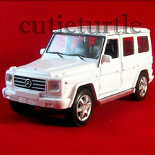 "4.5"" Welly Mercedes Benz G Class Wagon Diecast Toy Car 43689D White"