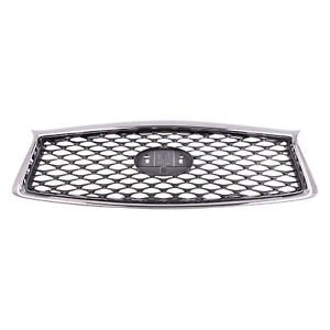 IN1200137 New Replacement Front Grille Fits 2018-2020 Infiniti Q50 Sedan