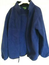 American LL Bean Boys Polartec Zip Up Fleece Jacket, Size M (10-12 years)