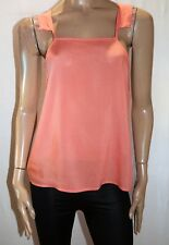 Ladakh Brand Women's Coral Sand Eloise Lace Cami Top Size M BNWT #TK85