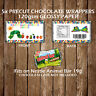 Personalised Caterpillar Chocolate Bar Wrapper Party Favours Decoration Children