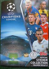 Topps UEFA Champions League 2016 2017 - 10 Sticker auswählen CL 16 17