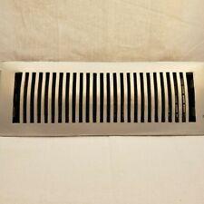 """Registro de suelo Acero inoxidable de ventilación de aire aceitado Bronce 4/"""" X 10/"""" a prueba de óxido"""