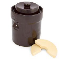 Fermenting Crock 5 Liter Homemade Sauerkraut Maker German Style Pickles Kimchi