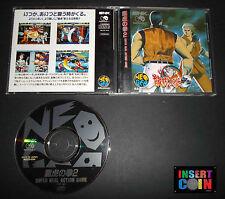 JUEGO NEO GEO CD ART OF FIGHTING 2   SNK NEO GEO AES