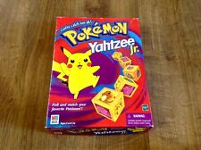 VINTAGE POKEMON YAHTZEE JR. GAME 1999 POKEMKN GAME - COMPLETE