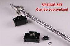 Cnc Ball Screw Sfu1605 Rm1605 End Machined With Ballnut Amp Bk12bf12 L300 2000mm
