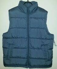 GAP/ Men's /  Unisex / Body Warmer Gilet  BNWT  Size L   Baltic Blue  RRP £39.99