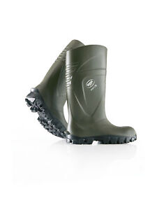 Bekina Steplite X Safety Wellington Boots Wellies Welly Green Thermal Insulated