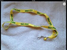 Steve Prefontaine Go Pre Lanyard Oregon Yellow & Green Cross Country Team Must