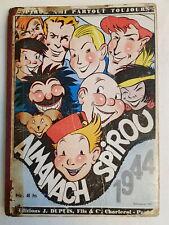 Reliure/Almanach Spirou 1944