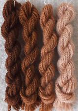 Vintage Cinnamon Shades (pre-1980) Paternayan Persian Wool
