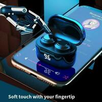 Wireless Bluetooth 5.0 Earbuds TWS HiFi Waterproof Headphone Stereo Headset J8G5