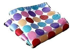 Buy2) Men's Classic Silk Satin Pocket Square/+ Polka Dots Pocket Party Gifts