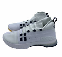🔥 Under Armour Project Rock 1 White Gold Navy Gym Shoes 3020788-108 Size 9.5 *