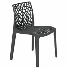 Kitchen Plastic Contemporary Chairs with 1 Pieces