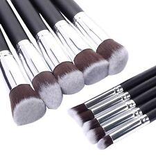 10pcs Pro Cosmetic Makeup Brush Face Powder Eyeshadow Blush Brushes Set Tools US