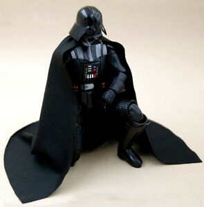 MY-C2-DV: FIGLot Fabric cape for Bandai 1/12 scale Darth Vader Model Kit