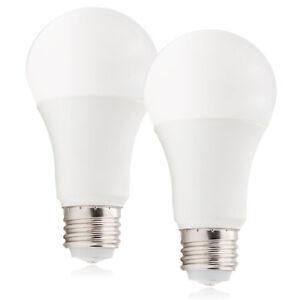 Maxxima 3-Way LED A19 Light Bulb, 40W/60W/100W Equal, 2700K Warm White (2 Pack)