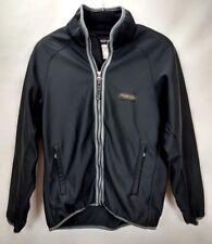 Phenix Mens Ski Jacket Coat Size XS Black Soft Shell Full Zip Winter Performance