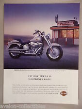 Harley-Davidson Fat Boy Motorcycle PRINT AD - 2005 ~~ motorcycles, MC