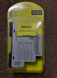 IMO TM34C  24V AC/DC 100-240V multifunctional DIN –Timer.