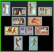GREECE 1960 OLYMPIC GAMES SC#677-87 MNH CV$24.05 SPORTS, HORSES