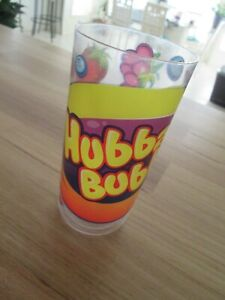 Hubba Bubba Wrigleys Plastic Cup /Tumbler- Graphic Collectable Chewing Gum