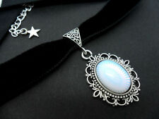 Opalite Stone Costume Necklaces & Pendants