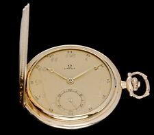 OMEGA ORIGINAL POCKET WATCH GOLD-PLATED 1933