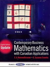 Contemporary Business Mathematics with Canadian Ap