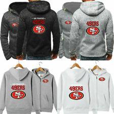 San Francisco 49ers Hoodie Football Hooded Sweatshirt Fleece Jacket Fans Gift