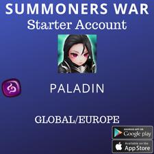 Summoners War Dark Paladin Leona Starter Account